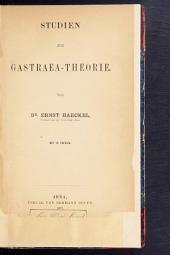 Studien zur Gastraea-theorie