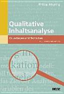Qualitative Inhaltsanalyse PDF