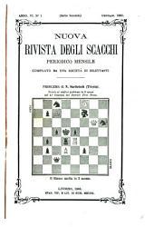 Nuova rivista degli scacchi: periodico mensile ...