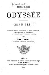 Odyssée, chants I et II.