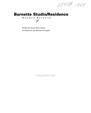 Burnette Studio/residence