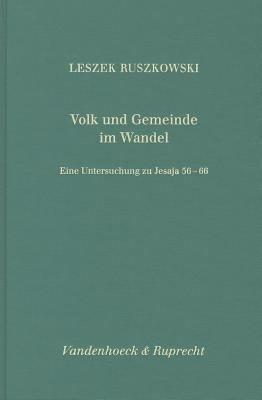 Volk und Gemeinde im Wandel PDF