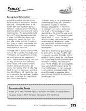 Ramadan Puzzles and Activities (K–2)