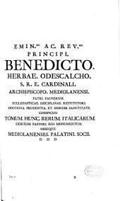 Rerum italicarum scriptores: ab anno aerae christianae quingentesimo ad millesimumquingentesimum, Volume 5