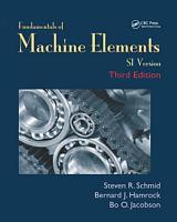 Fundamentals of Machine Elements  Third Edition PDF