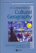 A Companion to Cultural Geography PDF
