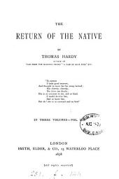 The Return of the Native: Volume 3