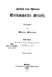 Joseph von Görres gesammelte schriften: Band 7