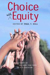 Choice with Equity