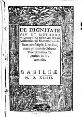 De dignitate, usu et methodo philosophiae moralis, quam Aristoteles ad Nicomachum filium conscripsit
