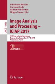 Image Analysis And Processing   ICIAP 2017