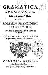Gramatica spagnuola ed italiana