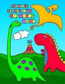 Mario's Little Dino Coloring Book