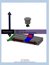 MasterCam X7: 2 1/2D 3-Axis Mill Programming