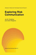 Exploring Risk Communication