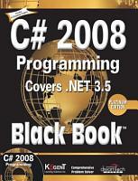 C  2008 Programming  Covers  Net 3 5 Black Book  Platinum Ed PDF