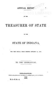 Annual Reports of the Officers of State of the State of Indiana  Administrative Officers  Trustees and Superintendents of the Several Benevolent and Reformatory Institutions     PDF