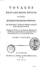 Voyages dans les Deux Siciles et dans quelques parties des Apennins: Volume6