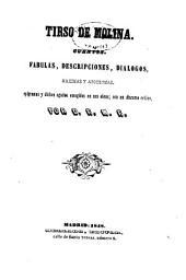 Cuentos, fabulas, descripciones, diálogos, maximas y apotegmas, epigramas y dichos agudos escogidos en sus obras