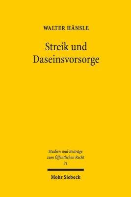 Streik und Daseinsvorsorge PDF