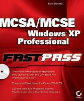 MCSA   MCSE  Windows XP Professional Fast Pass PDF