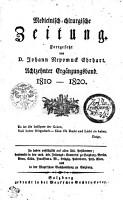 Medicinisch chirurgische Zeitung PDF