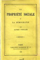 La propriété sociale et la démocratie