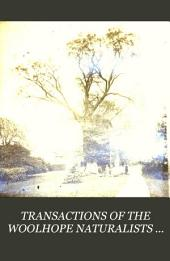 TRANSACTIONS OF THE WOOLHOPE NATURALISTS FIELD CLUB