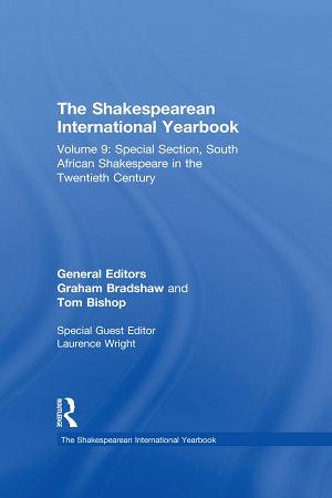 The Shakespearean International Yearbook PDF