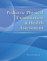 Pediatric Physical Examination   Health Assessment PDF