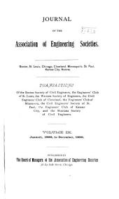 Journal of the Association of Engineering Societies: Volume 9
