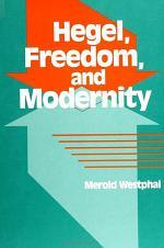 Hegel, Freedom, and Modernity