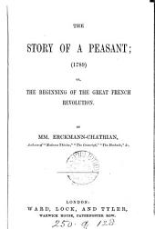 The story of a peasant, by mm. Erckmann-Chatrian.(Pt. 1, 2).