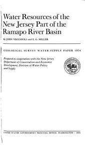 Geological Survey Water-supply Paper: Issue 1974