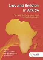 Law and Religion in Africa PDF