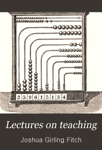 Lectures on Teaching Delivered in the University of Cambridge During the Lent Term  1880 PDF