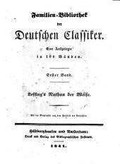 Lessing's Nathan der Weise: mit der Biographie und dem Portrait des Verfassers