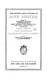 Lady Susan. The Watsons. Letters, pt. I