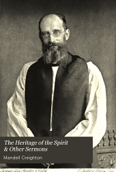 The Heritage of the Spirit & Other Sermons