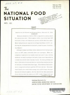 National Food Situation