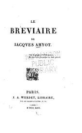 Le bréviaire de J. Amyot