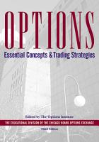 Options Essential Concepts  3rd Edition PDF