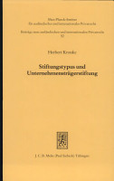Stiftungstypus und Unternehmenstr  gerstiftung PDF