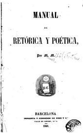 Manual de retórica y poética