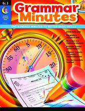 Grammar Minutes, Gr. 3, eBook