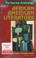 The Norton Anthology of African American Literature PDF