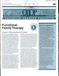 Functional Family Therapy PDF
