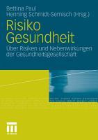 Risiko Gesundheit PDF