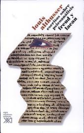 Escritos sobre psicoanálisis: Freud y Lacan