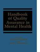 Handbook of Quality Assurance in Mental Health